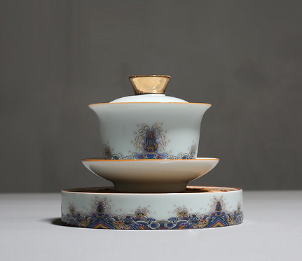 Poltmore Tiara Fountain Gaiwan ( 130 ml )