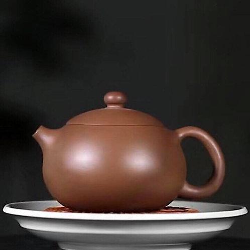 Yixing Zisha Aged Fault Clay Xishi Teapot (200ml) (Name Carving)