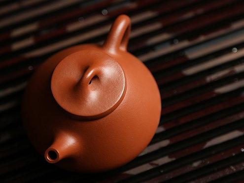 Yixing Zisha Zhu Clay Zi Piao Teapot (Zi Ye Style) (165ml)