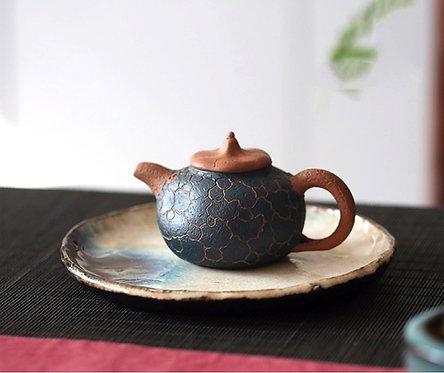 Yixing Zisha Aged Fault Clay Gong Chun Teapot (155ml)