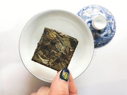 2019 High Mountain Baimudan Mini Cake - Green Biscuit