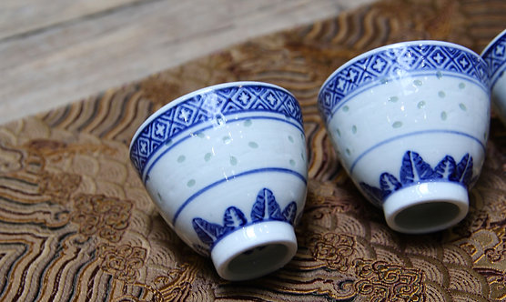 Qinghua Sprinkled Sesame Teacup