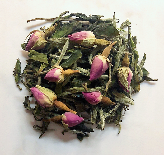 2020 Spring Organic Rose Bud Wild Baimudan