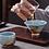 Thumbnail: Arctic Blue Ice Crack Teacups