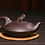 Thumbnail: Yixing Zisha Aged Purple Clay Peace in ElephantTeapot (225ml) (Name Carving)