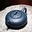 Thumbnail: Yixing Zisha Ink Green Clay Grape Stealing Squirrel Xishi Teapot (250 ml)