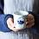 Thumbnail: Qinghua Blue Garden Teacup