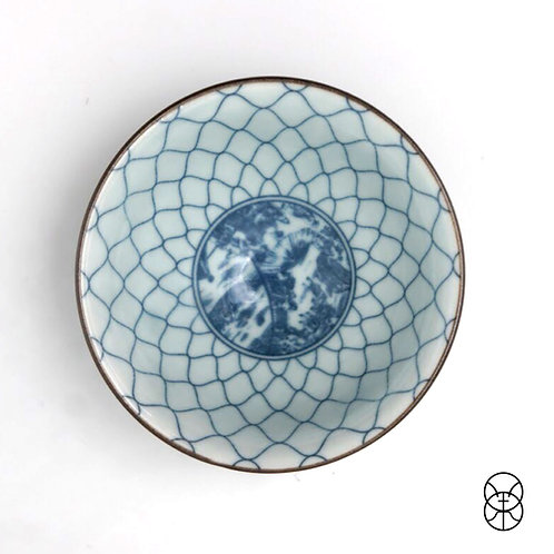 Mirage Hand Painted Shino Glaze Teacups