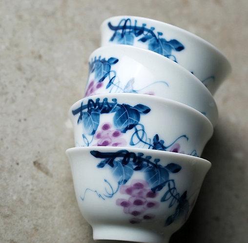 Kyoho Grape Teacups