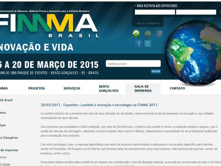 Relembre o lançamento da luminária SMART, na FIMMA 2013: