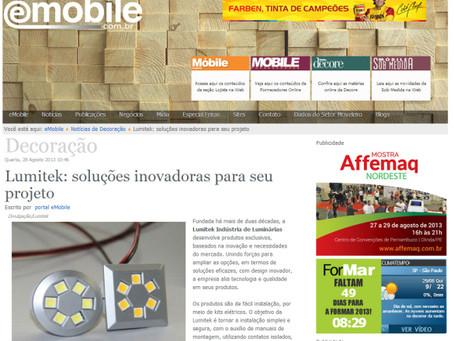 LUMITEK é destaque no portal eMobile!