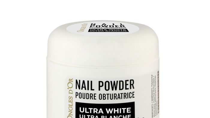 Poudre Ultra Blanche Ongles d'Or 2 oz