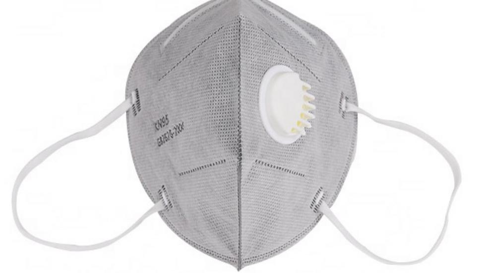 Masque avec respirateur