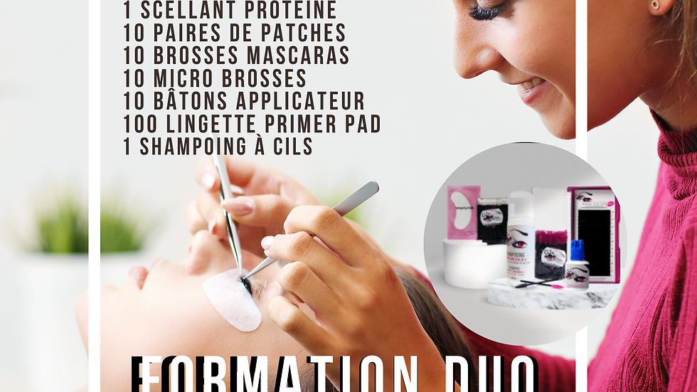 Formation d'extension de cils Bronze