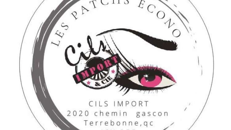 Patches cils import (100)