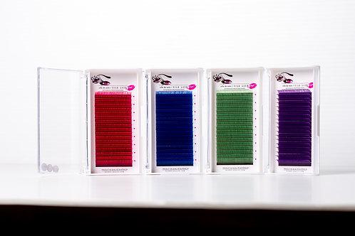 Boîtier de cils volume de couleur 0.07