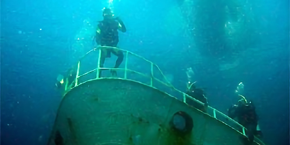 Lena Wreck Dive (Double) leaving from Bunbury. Rescheduled from Feb due to COVID
