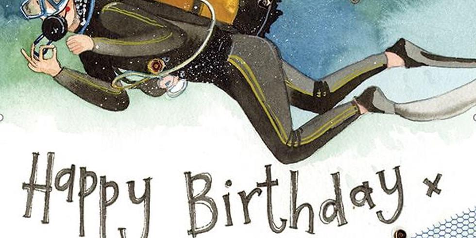 Mid Week Dive  Celebrating Liz's Birthday - Single - All WELCOME