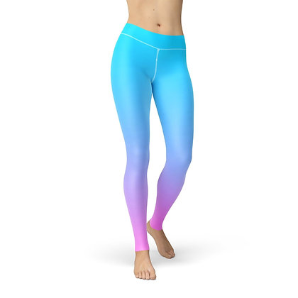 Jean Blue Pink Ombre