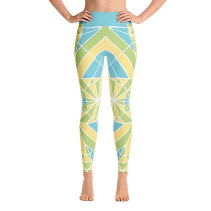 Yoga Leggings – Emerald Leap