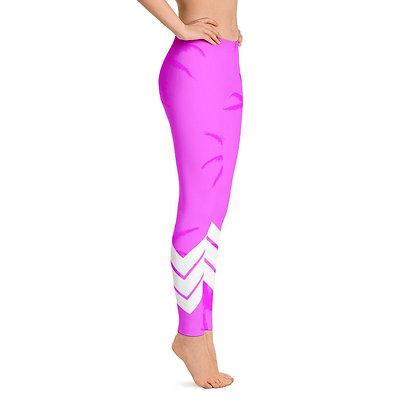 Women's All Day Comfort Pink Venture Pro Palm Life Leggings