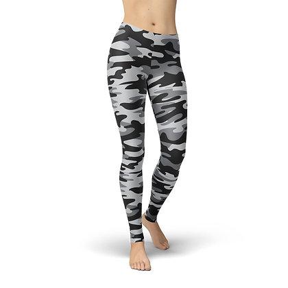 Jean Dark Grey Camouflage
