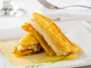 Classic Sole Meuniere and Fry Plantain