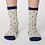 Thumbnail: White and blue spot socks