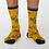 Thumbnail: Mustard bicycle socks