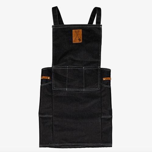 Japanese denim garden apron