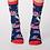 Thumbnail: Blue silly cat socks