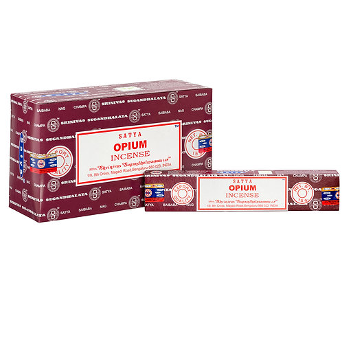 Opium incense sticks