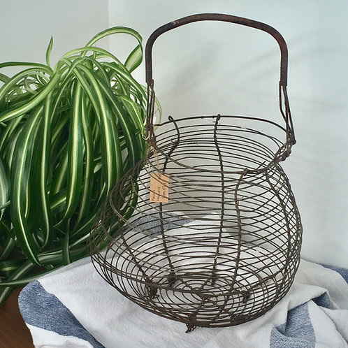 French wire fruit basket