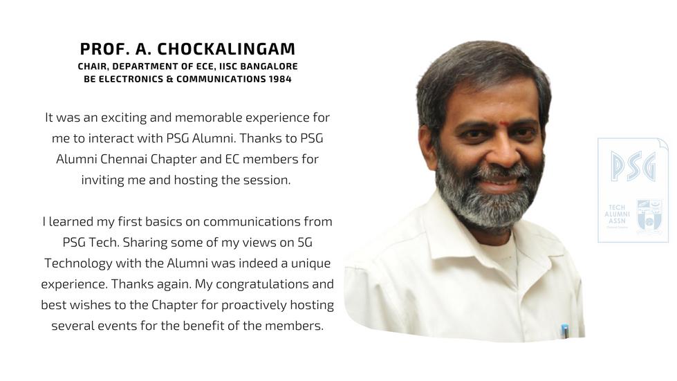 Prof. A. Chockalingam