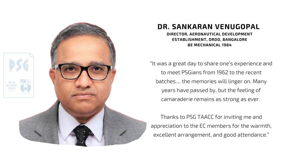 Dr. Sankaran Venugopal