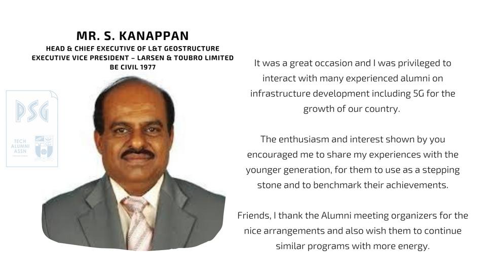 Mr. S. Kanappan