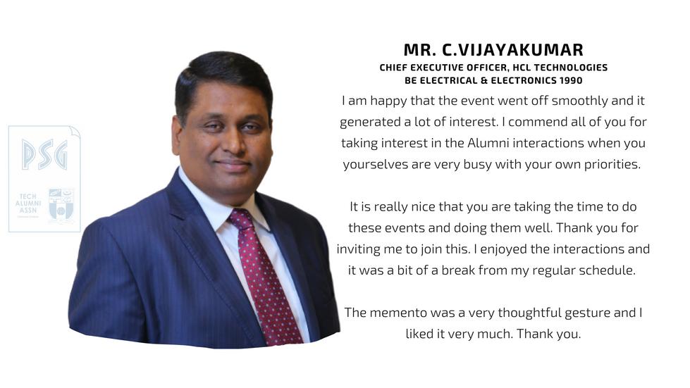 Mr. C.Vijayakumar