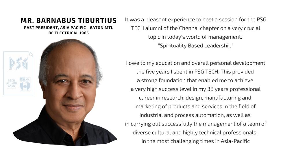 Mr. Barnabus Tiburtius