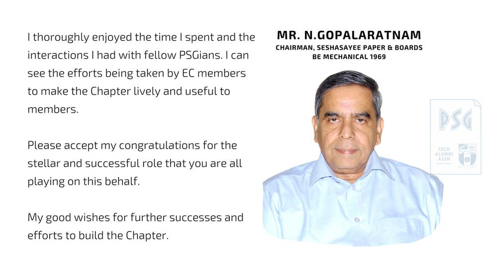 Mr. N.Gopalaratnam