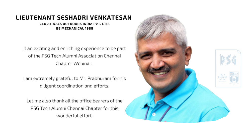 Lieutenant Seshadri Venkatesan