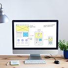 שלב עיצוב האתר