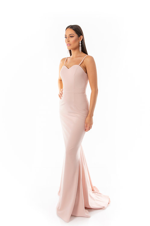 Sweetheart Trail Maxi Dress - Soft Pink