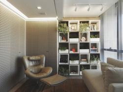 Interiores Consultório de Psicologia