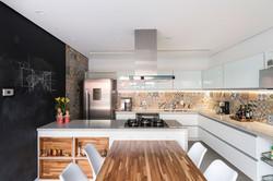 Interiores Cozinha da Casa do Lago