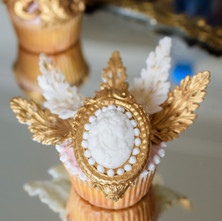 Baroque cupcake 6 art sucre by mounia.jp