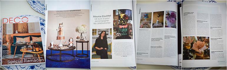 Deco Actuelle article Art Sucré by Mounia