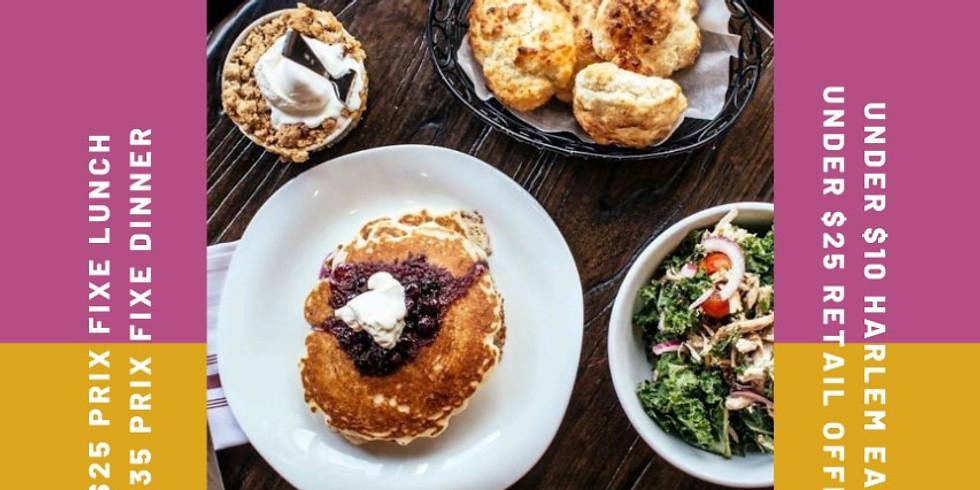 Harlem Restaurant Week Oct 19th-Oct 31st, 2020