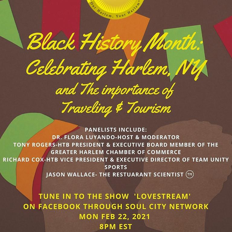 HTB Presents: Black History Month Celebrating Harlem, NY