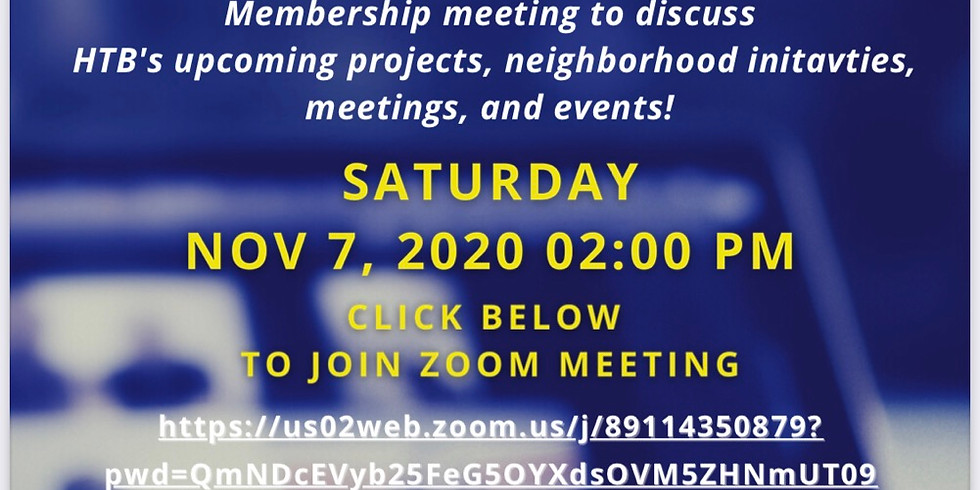 Virtual Membership Meeting