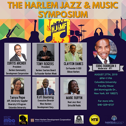 BUSINESS OF JAZZ MUSIC CULTURE 2019 flye